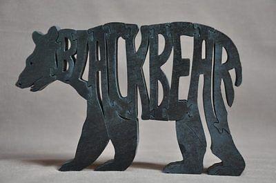 Bear Animal Wood Puzzle Amish Made Toy
