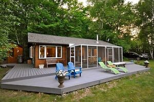Muskoka Private Lakefront Cottage Rental ~ Buck lake #10 ~