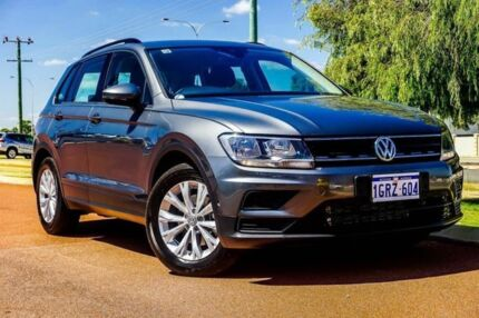 2017 Volkswagen Tiguan 5N MY17 110TSI DSG 2WD Trendline Grey 6 Speed Sports Automatic Dual Clutch Wangara Wanneroo Area Preview