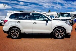 2013 Subaru Forester S4 MY13 XT Lineartronic AWD White 8 Speed Constant Variable Wagon