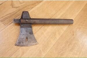 Old Soviet Russian Military Tool Axe