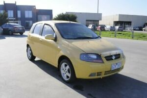 2007 Holden Barina TK MY08 Yellow 4 Speed Automatic Hatchback Hoppers Crossing Wyndham Area Preview