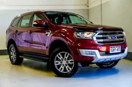2015 Ford Everest UA Trend 4WD Maroon 6 Speed Sports Automatic Wagon Wangara Wanneroo Area Preview