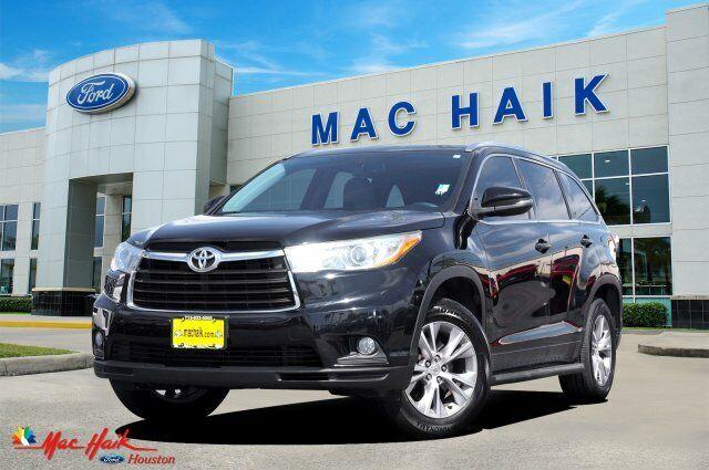 2015 Toyota Highlander Xle 54640 Miles Attitude Black Metallic Sport Utility Reg