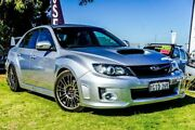 2012 Subaru Impreza G3 MY12 WRX STi AWD Spec R Silver 6 Speed Manual Sedan Wangara Wanneroo Area Preview