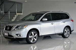 2015 Nissan Pathfinder R52 MY15 Ti X-tronic 4WD Silver 1 Speed Constant Variable Wagon Southport Gold Coast City Preview