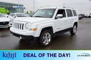 2013 Jeep Patriot 4WD LIMITED Leather,  Heated Seats,  Sunroof,