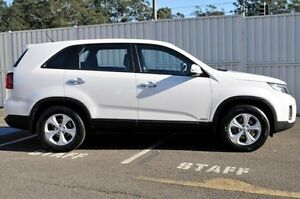2013 Kia Sorento XM MY13 Si 4WD White 6 Speed Sports Automatic Wagon Gosford Gosford Area Preview