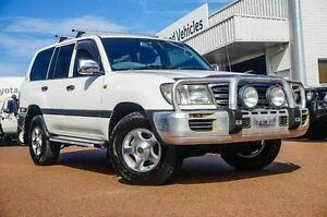 2003 Toyota Landcruiser UZJ100R GXL White 5 Speed Automatic Wagon Westminster Stirling Area Preview