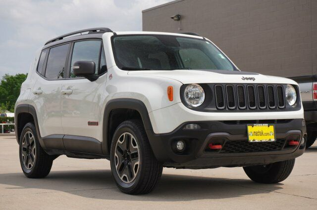 Owner 2016 Jeep Renegade Trailhawk 54501 Miles Alpine White Sport Utility Regular Unle