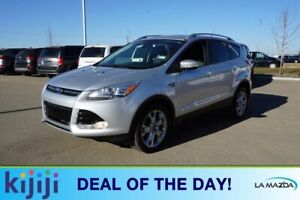 2014 Ford Escape AWD TITANIUN Navigation (GPS),  Leather,  Heate