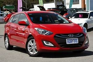 2014 Hyundai i30 GD Active Tourer Red 6 Speed Sports Automatic Wagon Myaree Melville Area Preview