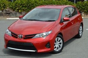 2014 Toyota Corolla Red Constant Variable Hatchback Highland Park Gold Coast City Preview