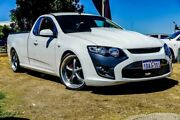2008 Ford Falcon FG Ute Super Cab White 4 Speed Sports Automatic Utility Wangara Wanneroo Area Preview