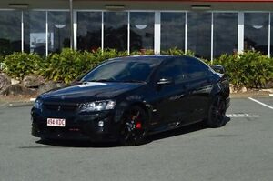 2008 Holden Special Vehicles GTS E Series MY09 Black 6 Speed Manual Sedan Highland Park Gold Coast City Preview