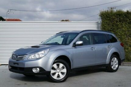 2011 Subaru Outback B5A MY12 2.0D AWD Silver 6 Speed Manual Wagon South Launceston Launceston Area Preview