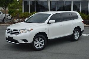 2013 Toyota Kluger White Sports Automatic Wagon Highland Park Gold Coast City Preview