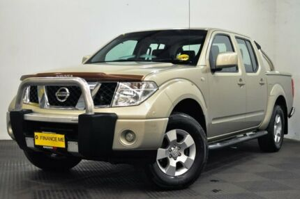 2010 Nissan Navara D40 ST Beige 6 Speed Manual Utility Edgewater Joondalup Area Preview