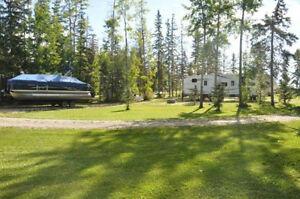 Seasonal Lot RV Site Lakefront Cabin Rental