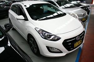 2015 Hyundai i30 GD Active Tourer White 6 Speed Sports Automatic Wagon Maryville Newcastle Area Preview