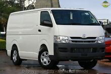 2010 Toyota Hiace KDH201R MY10 LWB White 5 Speed Manual Van Mindarie Wanneroo Area Preview