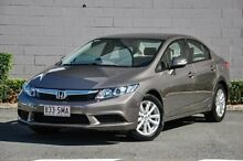 2012 Honda Civic 9th Gen VTi-L Silver 5 Speed Sports Automatic Sedan Main Beach Gold Coast City Preview