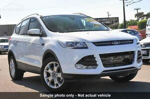 2015 Ford Kuga TF MKII Trend AWD Frozen White Automatic SUV Capalaba West Brisbane South East Preview