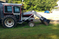 Tracteur inter 724 4 cylindres 67 HP