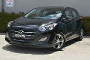 2015 Hyundai i30 GD3 Series II MY16 Active X Black 6 Speed Sports Automatic Hatchback Maitland Maitland Area Preview