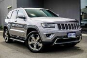 2015 Jeep Grand Cherokee WK MY15 Limited Silver 8 Speed Sports Automatic Wagon Osborne Park Stirling Area Preview
