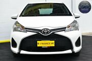 2016 Toyota Yaris NCP130R Ascent White 4 Speed Automatic Hatchback Canning Vale Canning Area Preview