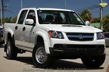 2009 Holden Colorado RC MY09 LX Crew Cab Grey 5 Speed Manual Utility Upper Ferntree Gully Knox Area Preview