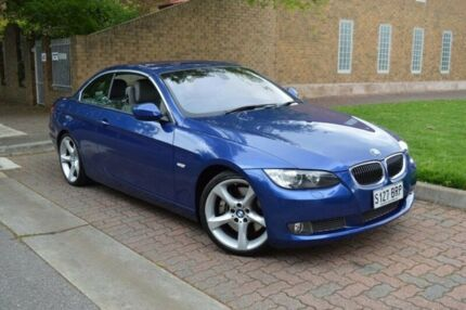 2010 BMW 335i E93 MY09 D-CT Blue 7 Speed Sports Automatic Dual Clutch Convertible