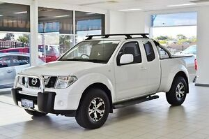 2014 Nissan Navara D40 MY13 ST-X (4x4) White 6 Speed Manual Kingcab Morley Bayswater Area Preview