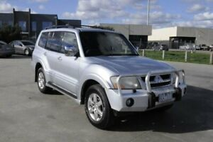 2006 Mitsubishi Pajero NS Exceed LWB (4x4) Silver 5 Speed Auto Sports Mode Wagon Hoppers Crossing Wyndham Area Preview