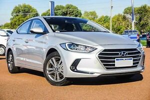 2016 Hyundai Elantra AD MY17 Active Silver 6 Speed Sports Automatic Sedan Wangara Wanneroo Area Preview
