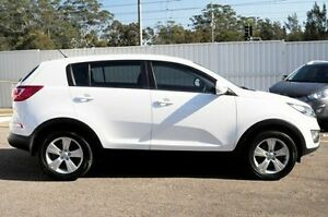 2012 Kia Sportage SL MY13 SI White 6 Speed Sports Automatic Wagon North Gosford Gosford Area Preview