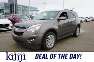 2012 Chevrolet Equinox AWD 2LT Accident Free,  Leather,  Heated