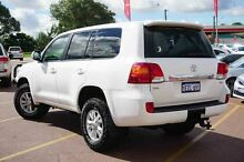 2013 Toyota Landcruiser VDJ200R MY13 GXL White 6 Speed Sports Automatic Wagon Balcatta Stirling Area Preview