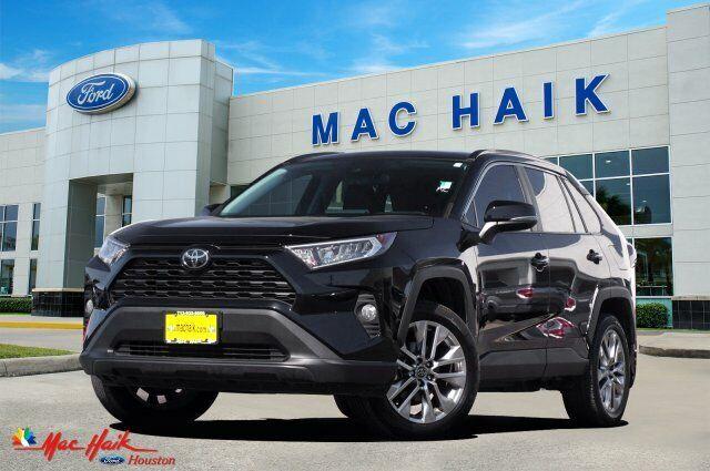 2019 Toyota RAV4 Xle Premium 6745 Miles Black Sport Utility Regular Unleaded I-4