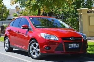 2012 Ford Focus LW Trend PwrShift Red 6 Speed Sports Automatic Dual Clutch Hatchback Thorngate Prospect Area Preview