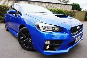 2014 Subaru WRX V1 MY15 Premium Lineartronic AWD Blue 8 Speed Constant Variable Sedan Glenelg East Holdfast Bay Preview