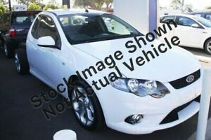 2010 Ford Falcon FG XR6 Super Cab White 5 Speed Sports Automatic Cab Chassis Kalamunda Kalamunda Area Preview