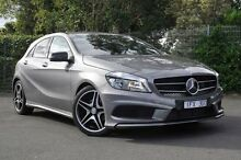 2015 Mercedes-Benz A200 176 MY15 BE Grey 7 Speed Sports Automatic Dual Clutch Hatchback Burwood Whitehorse Area Preview