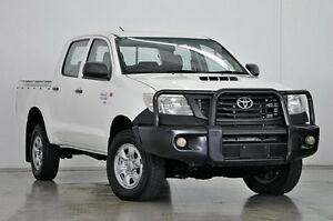2011 Toyota Hilux KUN26R MY10 SR White 4 Speed Automatic Utility Tweed Heads South Tweed Heads Area Preview
