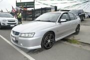 2004 Holden Commodore VZ SV6 Silver 5 Speed Auto Active Select Sedan Hoppers Crossing Wyndham Area Preview