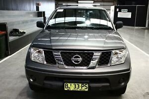 2011 Nissan Navara D40 RX Grey 6 Speed Manual Utility Maryville Newcastle Area Preview