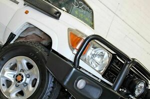 2008 Toyota Landcruiser VDJ76R Workmate (4x4) White 5 Speed Manual Wagon Burleigh Heads Gold Coast South Preview