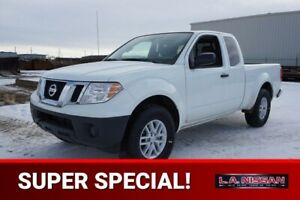 2018 Nissan Frontier S KING CAB 2.5 16 INCH ALUMINUM WHEELS, BAC