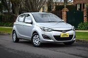 2013 Hyundai i20 PB MY13 Active Silver 4 Speed Automatic Hatchback Medindie Walkerville Area Preview